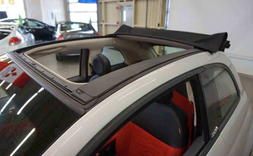 2013 Fiat 500 C Cabriolet (sonar de recul) #30
