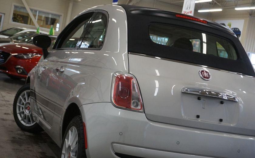 2013 Fiat 500 C Cabriolet (sonar de recul) #32