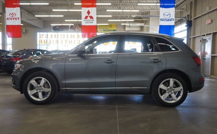 2013 Audi Q5 AWD PREMIUM (cuir-navi-toit) #3
