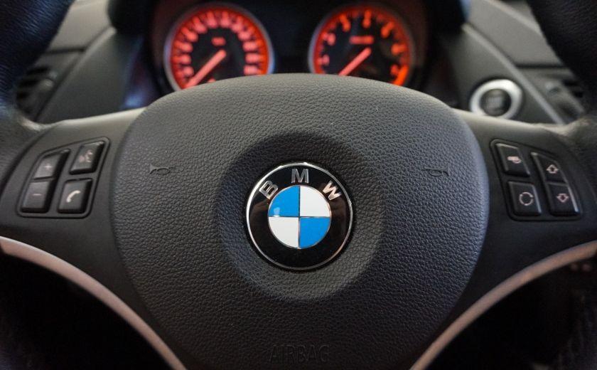 2012 BMW X1 28i AWD 2.0 Turbo (cuir) #12