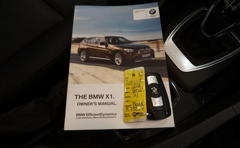 2012 BMW X1 28i AWD 2.0 Turbo (cuir) #26
