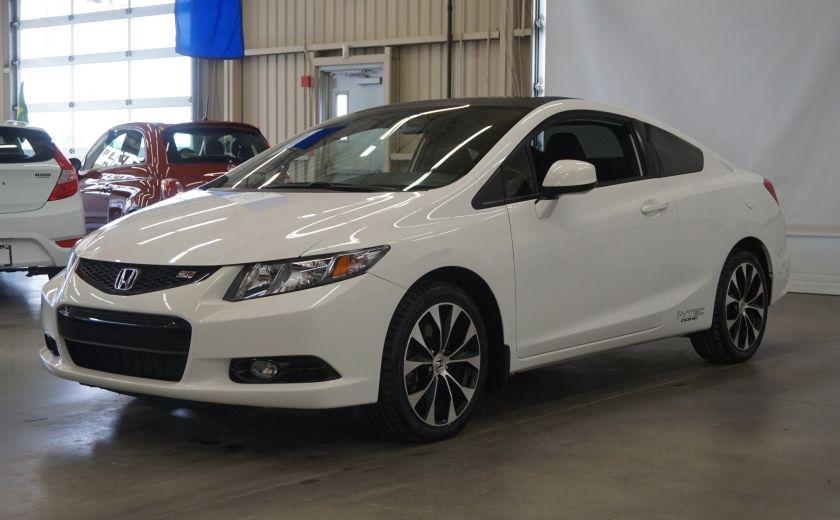 2013 Honda Civic Si Coupé (toit-caméra-navi) #2