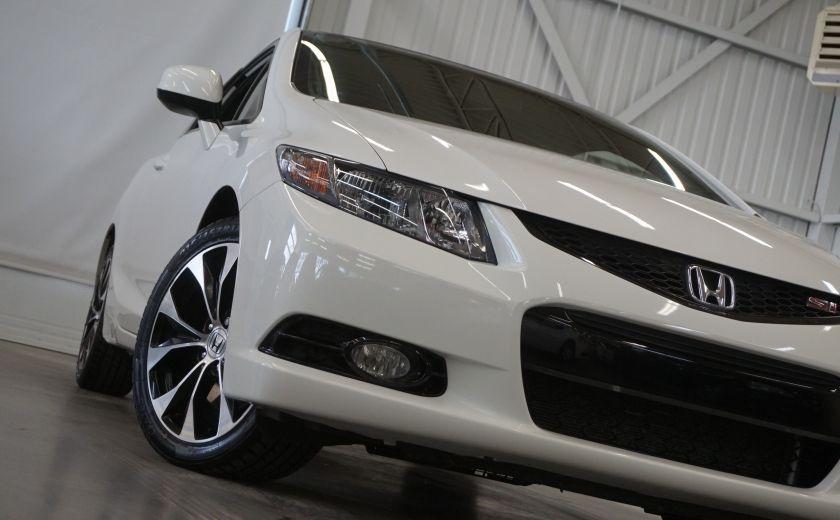 2013 Honda Civic Si Coupé (toit-caméra-navi) #28