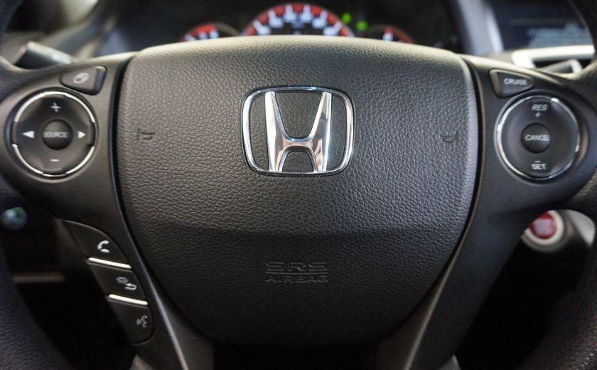 2013 Honda Accord EX Coupé (caméra-toit) #9