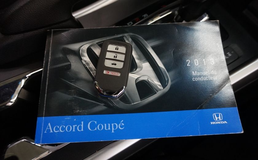 2013 Honda Accord EX Coupé (caméra-toit) #26