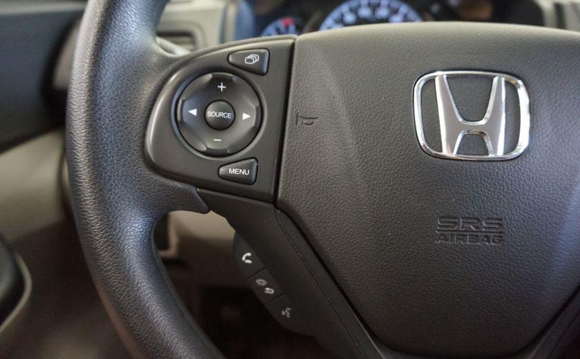 2013 Honda CRV LX (caméra de recul) #12