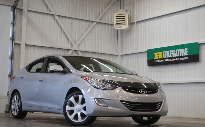 2011 Hyundai Elantra Limited (toit-cuir-navi) #0