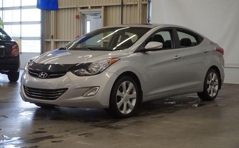 2011 Hyundai Elantra Limited (toit-cuir-navi) #2