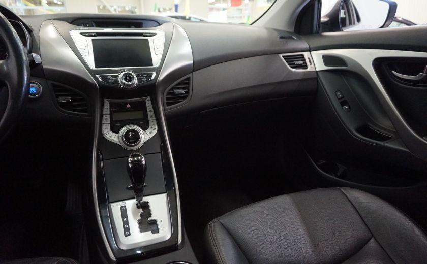 2011 Hyundai Elantra Limited (toit-cuir-navi) #9