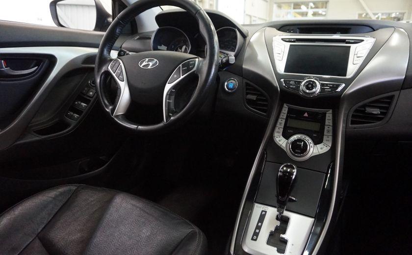 2011 Hyundai Elantra Limited (toit-cuir-navi) #10