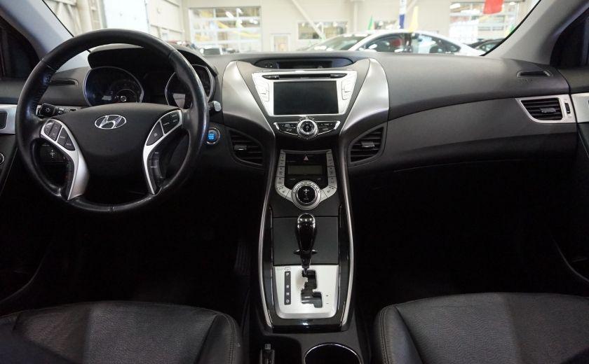 2011 Hyundai Elantra Limited (toit-cuir-navi) #11