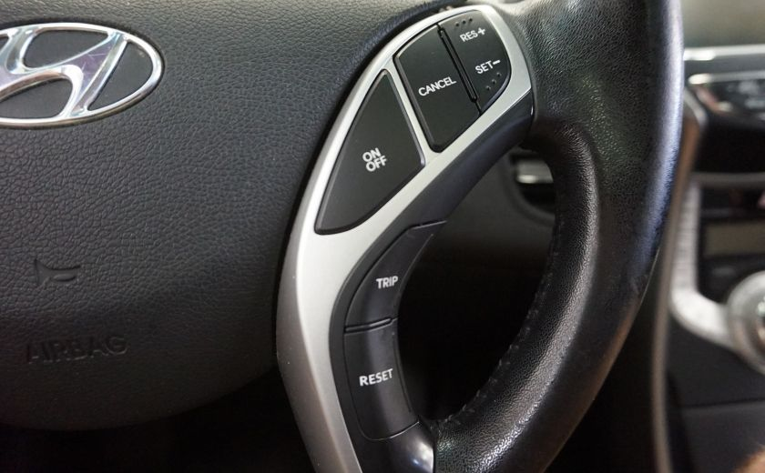 2011 Hyundai Elantra Limited (toit-cuir-navi) #13