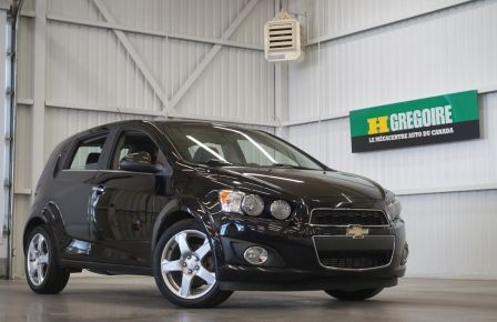 2012 Chevrolet Sonic LTZ (cuir-toit ouvrant) in Repentigny