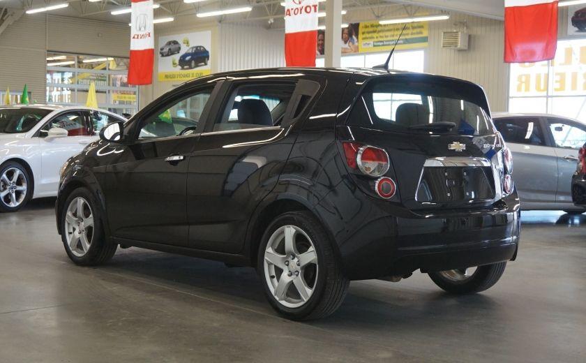 2012 Chevrolet Sonic LTZ (cuir-toit ouvrant) #4