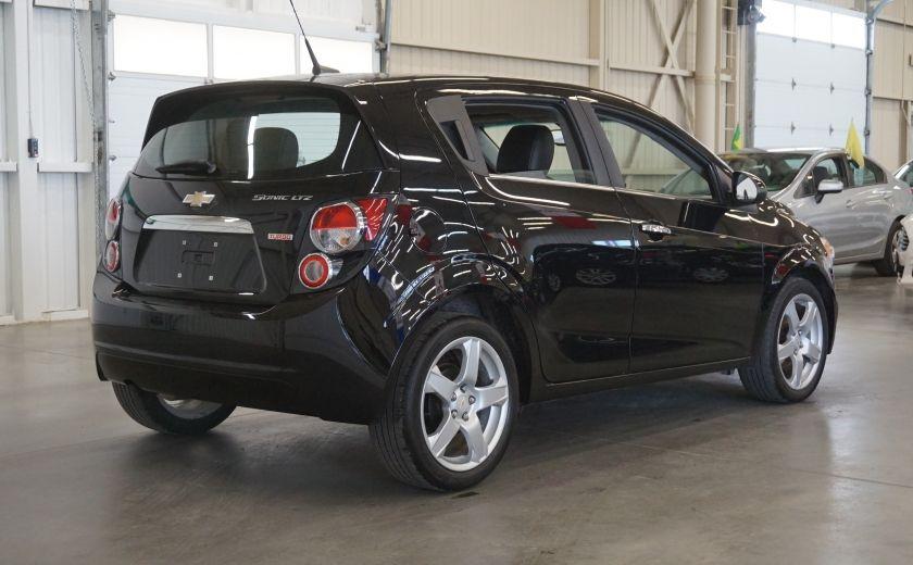 2012 Chevrolet Sonic LTZ (cuir-toit ouvrant) #6