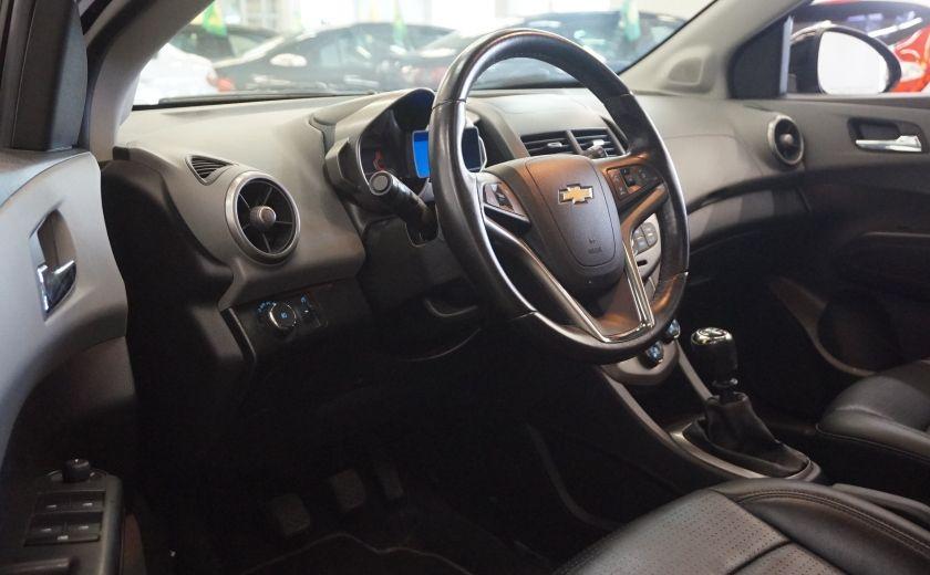 2012 Chevrolet Sonic LTZ (cuir-toit ouvrant) #8