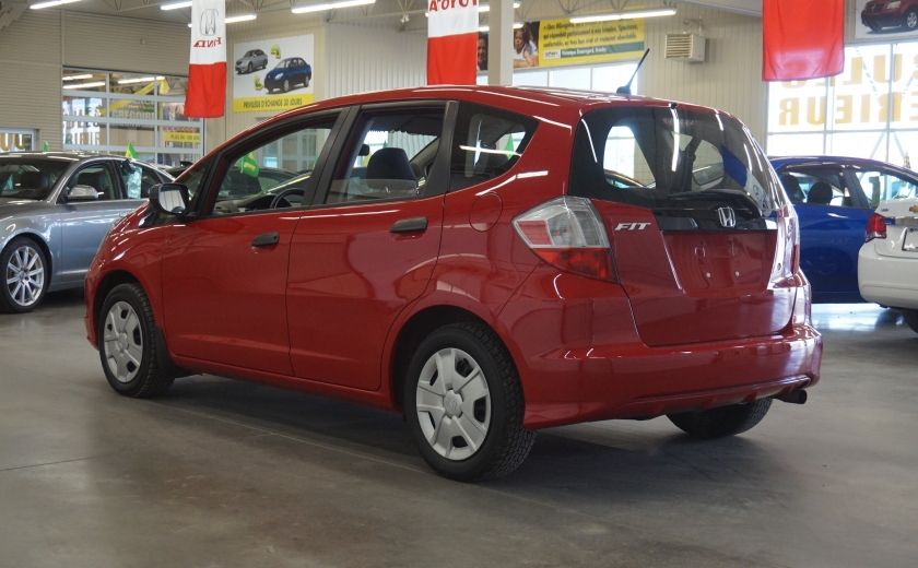 2014 Honda Fit DX #4