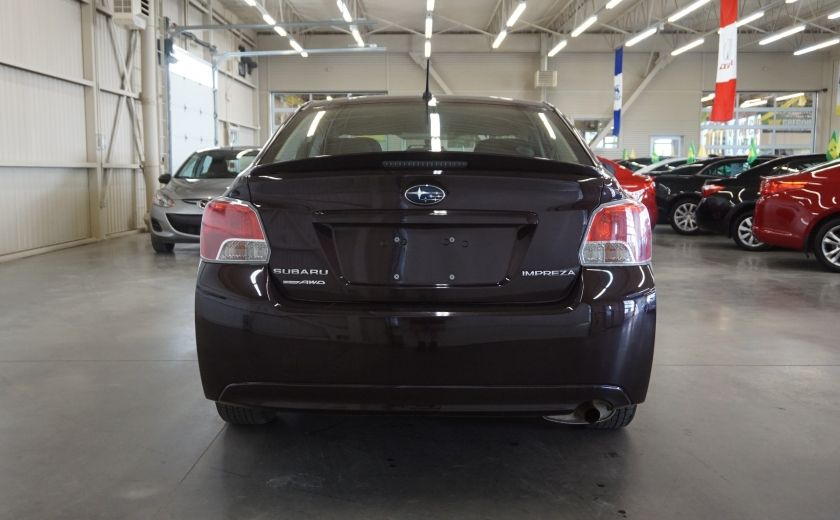 2012 Subaru Impreza 2.0i Touring AWD #5