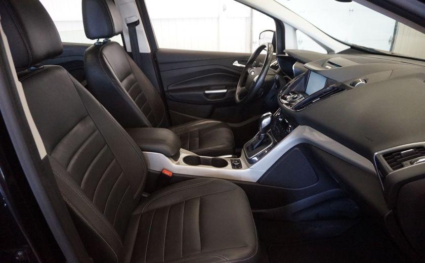 2013 Ford C MAX SEL Hybrid (cuir) #26
