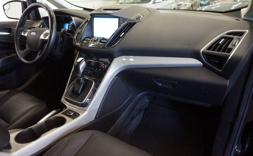2013 Ford C MAX SEL Hybrid (cuir) #27