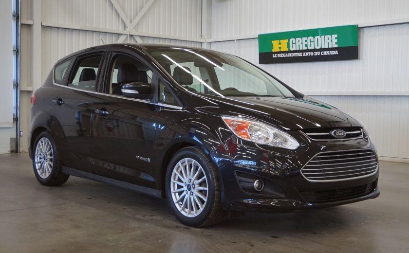 2013 Ford C MAX SEL Hybrid (cuir) #28