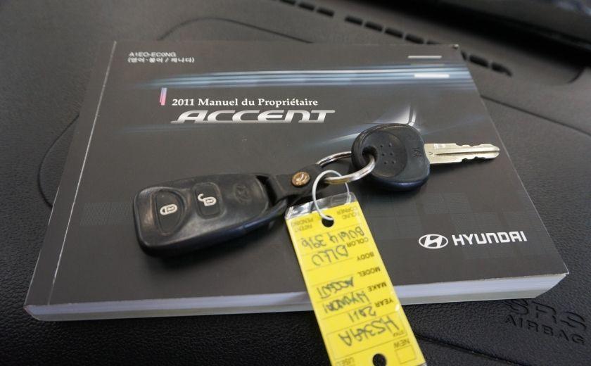 2011 Hyundai Accent GL #23