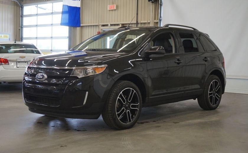 2013 Ford EDGE SEL AWD (caméra-sonar-cuir) #2
