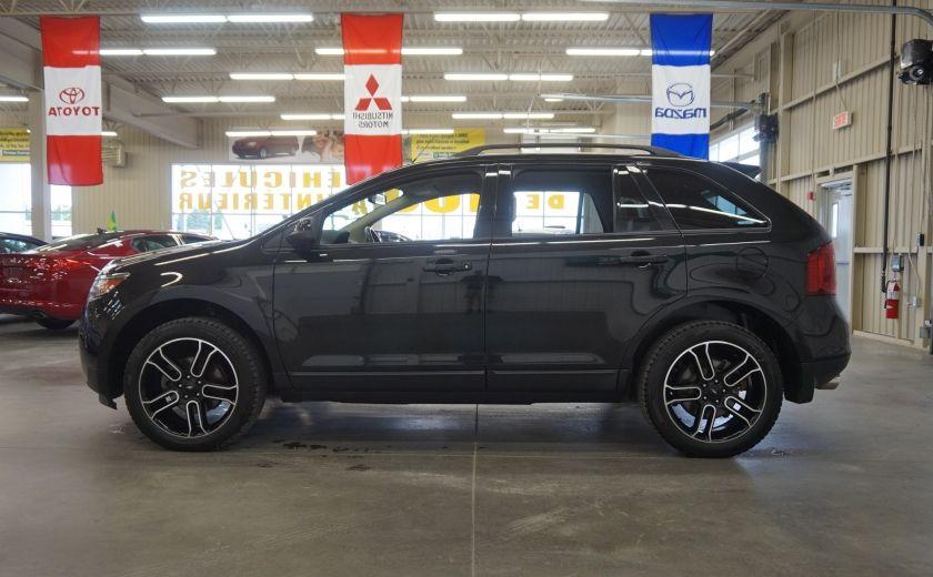 2013 Ford EDGE SEL AWD (caméra-sonar-cuir) #3