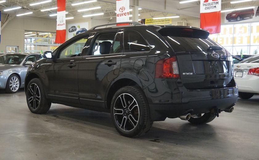 2013 Ford EDGE SEL AWD (caméra-sonar-cuir) #4