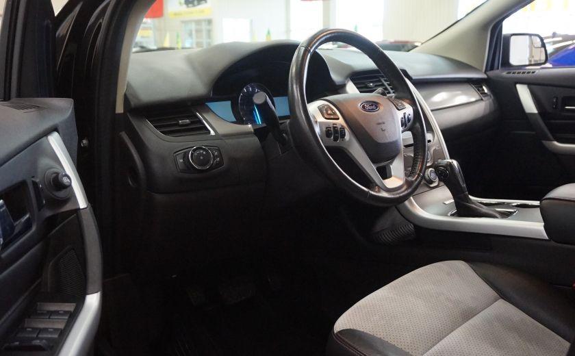 2013 Ford EDGE SEL AWD (caméra-sonar-cuir) #8