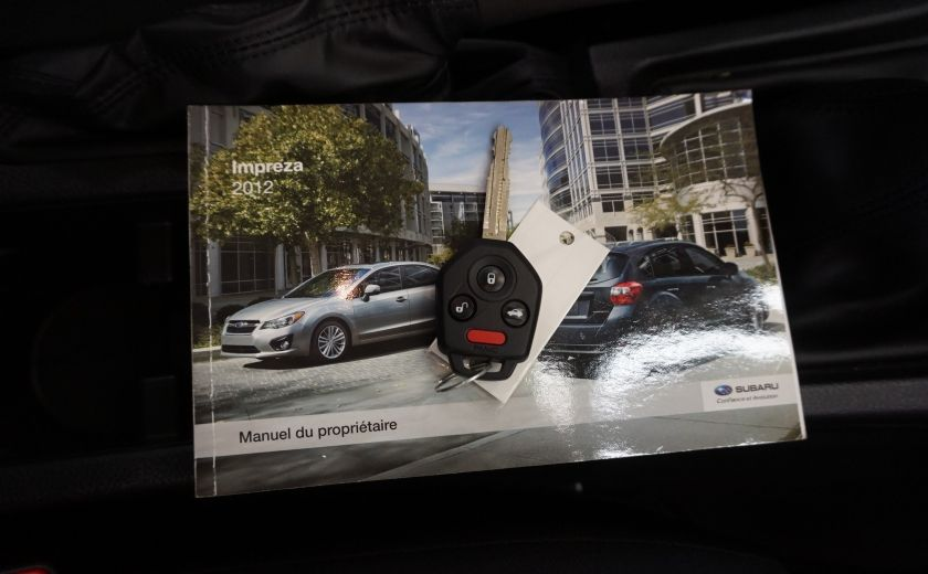 2012 Subaru Impreza 2.0i Sport Premium AWD #28