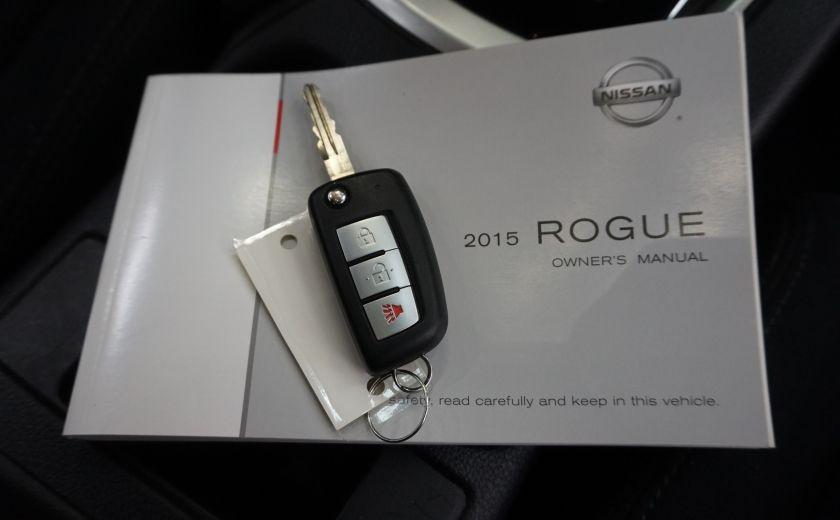2015 Nissan Rogue S AWD (caméra de recul) #29