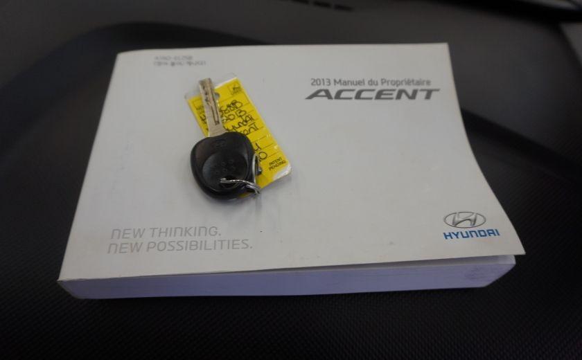 2013 Hyundai Accent L #24