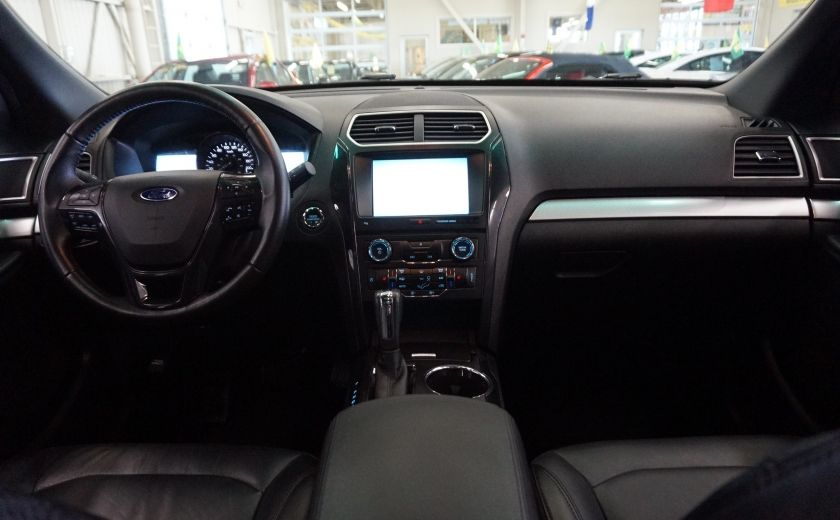 2016 Ford Explorer XLT 4WD (cuir-caméra-toit) #10