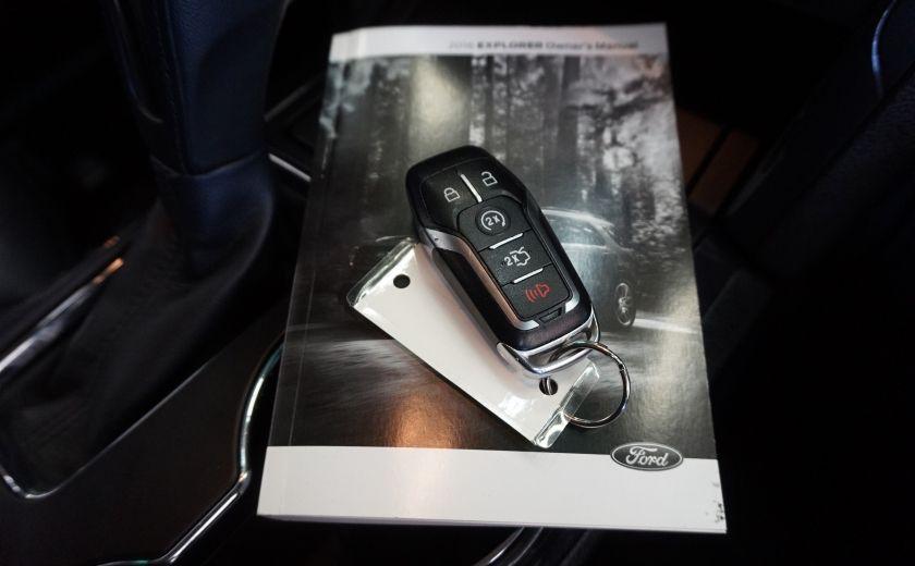 2016 Ford Explorer XLT 4WD (cuir-caméra-toit) #37