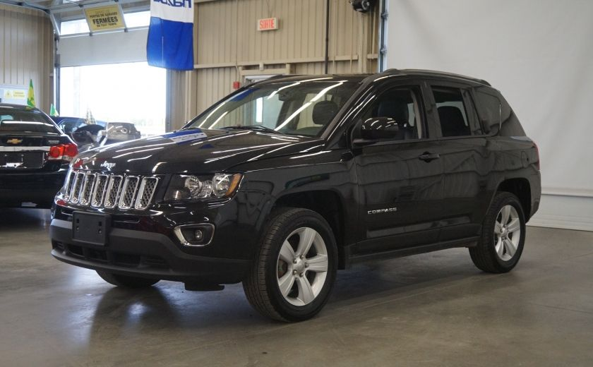 2016 Jeep Compass High Altitude 4WD (toit-cuir) #2