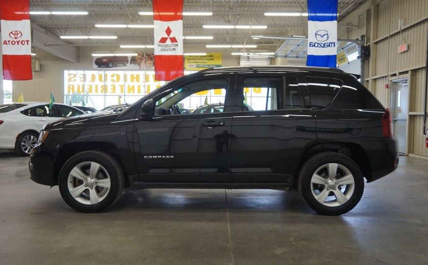 2016 Jeep Compass High Altitude 4WD (toit-cuir) #3