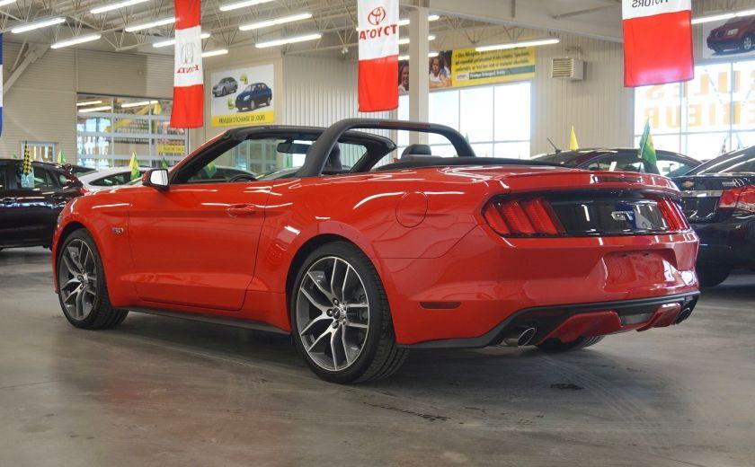 2015 Ford Mustang GT Cabriolet (cuir-caméra-navi) #4