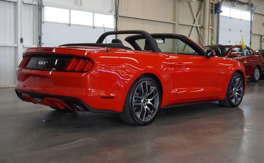 2015 Ford Mustang GT Cabriolet (cuir-caméra-navi) #6