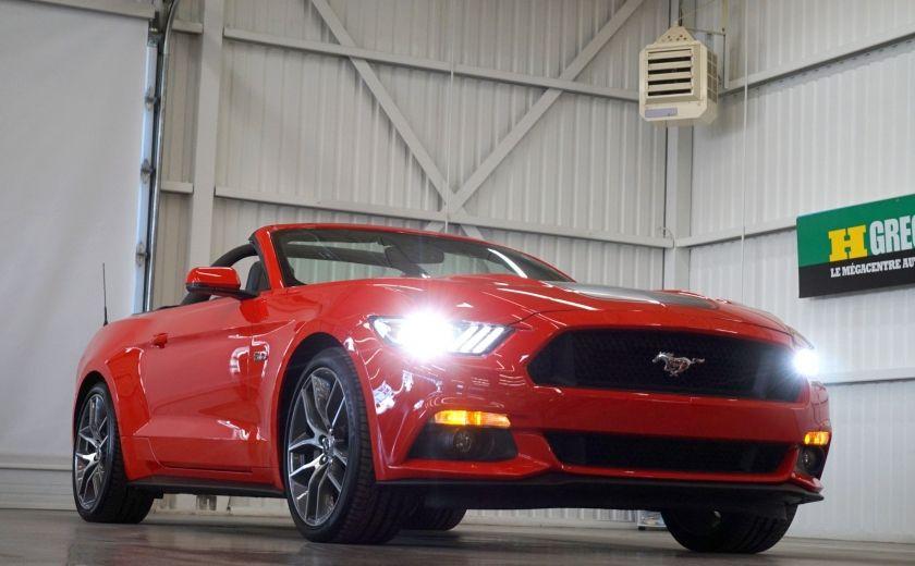 2015 Ford Mustang GT Cabriolet (cuir-caméra-navi) #28