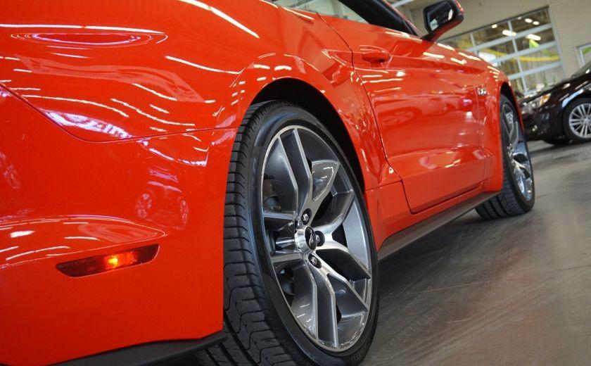 2015 Ford Mustang GT Cabriolet (cuir-caméra-navi) #33