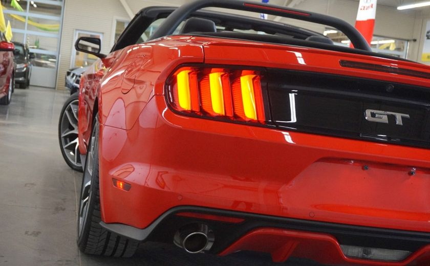 2015 Ford Mustang GT Cabriolet (cuir-caméra-navi) #36