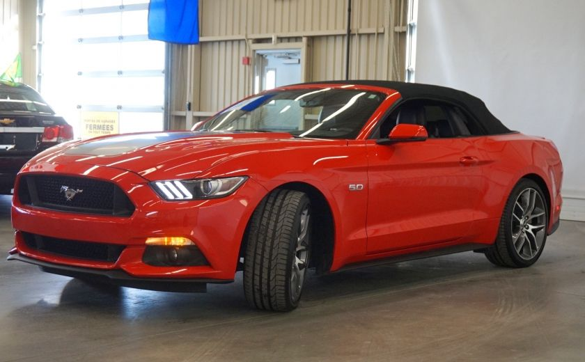 2015 Ford Mustang GT Cabriolet (cuir-caméra-navi) #38