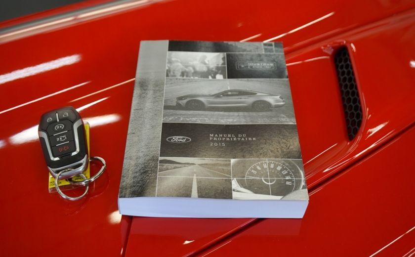 2015 Ford Mustang GT Cabriolet (cuir-caméra-navi) #42