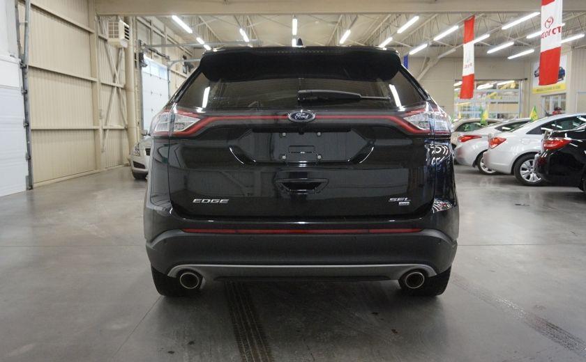 2015 Ford EDGE SEL AWD (caméra et sonar de recul) #5