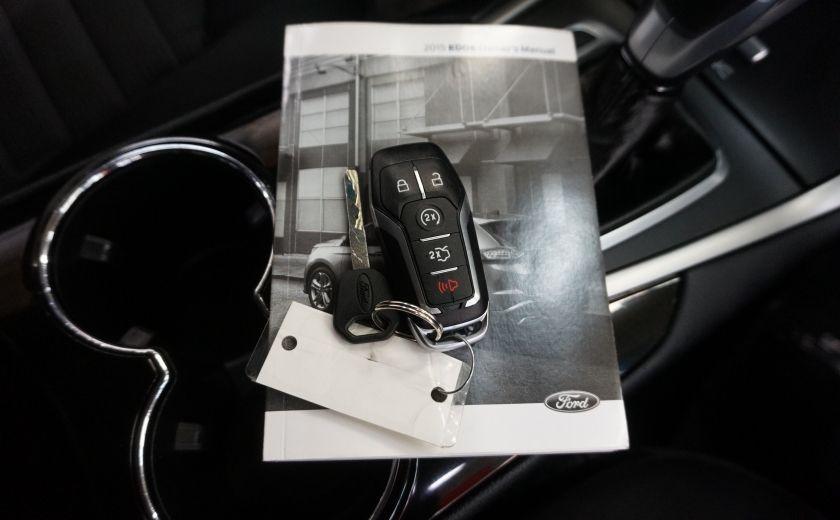 2015 Ford EDGE SEL AWD (caméra et sonar de recul) #30