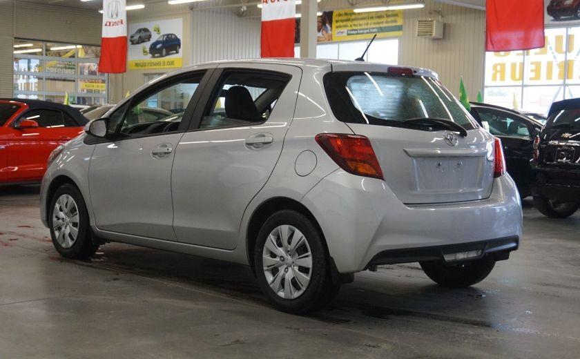 2015 Toyota Yaris LE #4