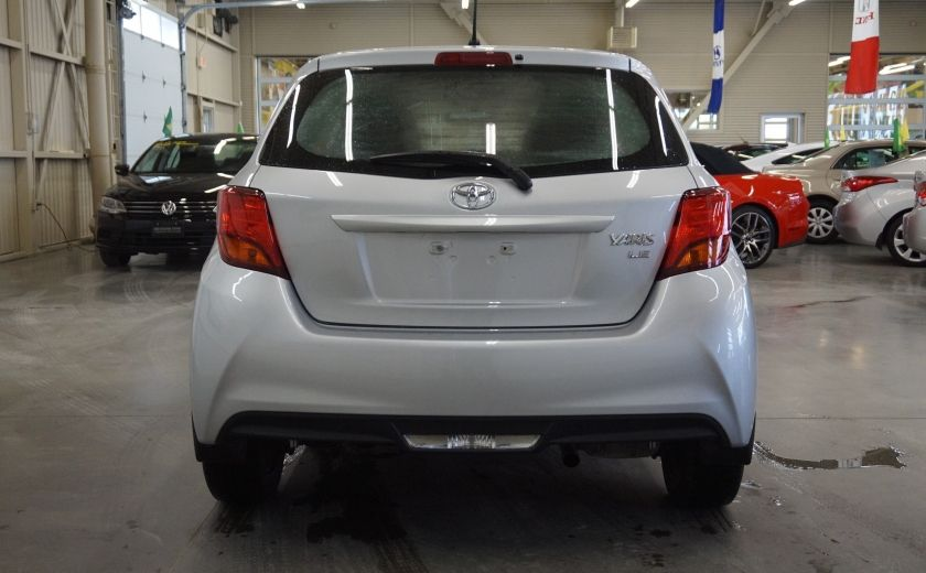 2015 Toyota Yaris LE #5