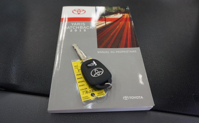 2015 Toyota Yaris LE #27