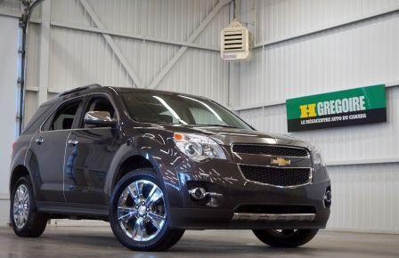 2014 Chevrolet Equinox LTZ AWD (cuir-toit-caméra-navi) à Drummondville